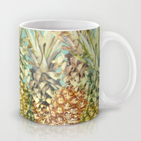Pineapple Paradise Mug by Lisa Argyropoulos