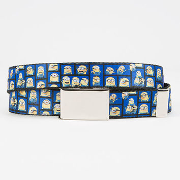 Buckle-Down Mini Minions Boys Belt Blue One Size For Women 27795724901
