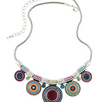 Forever Vintage Fashion Ladies Alloy Bohemia Statement Necklace [6573101767]
