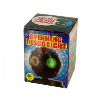 Mini Spinning Disco Party Light (pack of 2)