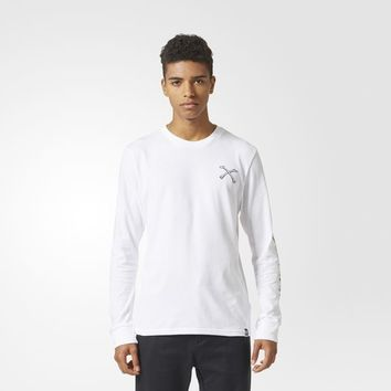 adidas Bonethrower Tee - White | adidas UK
