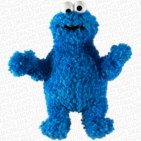 Cookie Monster Plush Backpack