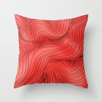 So smooth Throw Pillow by Ducky B