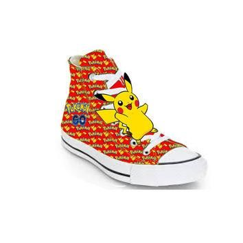 Red Limited edition POKEMON GO birthday inspired shoe (NON-CONVERSE)