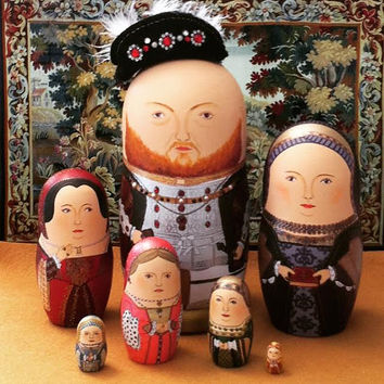 The Six Wives of Henry VIII Matryoshka Dolls