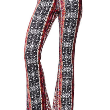 LA Hearts Knit Flare Light Weight Pants at PacSun.com