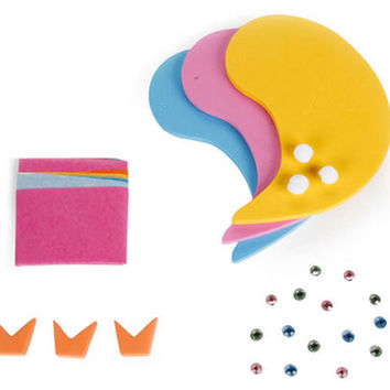 DIY Foam Birds Set