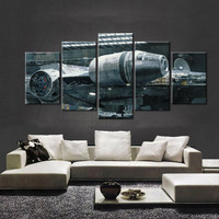 Star Wars Millennium Falcon Hanger Canvas