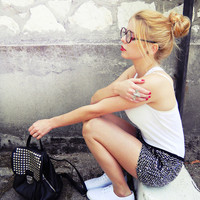 dream, bag, black, blonde - inspiring picture on Favim.com