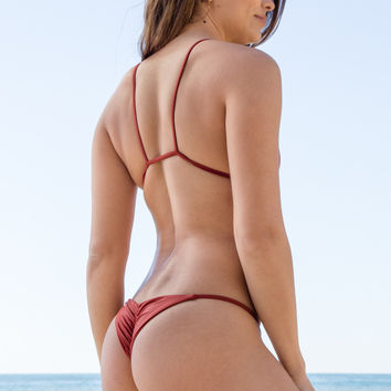 Stone Fox Swim - Puka Bottom | Red Sand