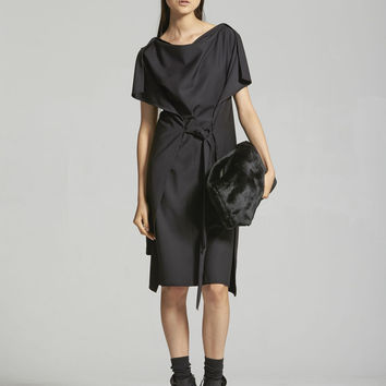 Border Dress - Black – Taylor
