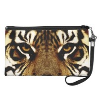 Eyes of a Tiger Wristlet Purses