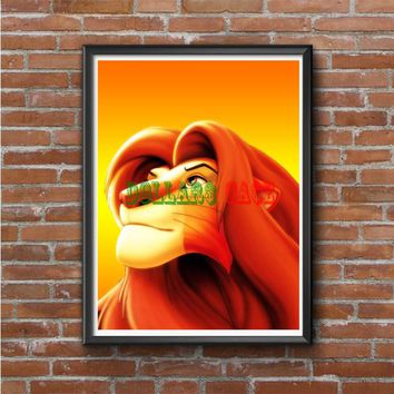 Cooll Scar The Lion King Photo Poster