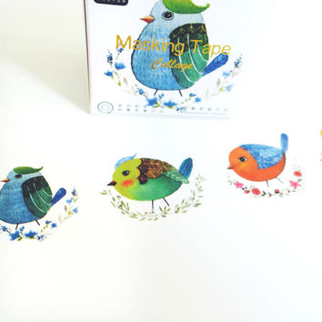 Birds Ravine washi masking tape mt