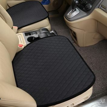 Auto Front Mat and Warm Seat Cushion Cover