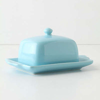 Anthropologie - Tea And Toast Butter Dish