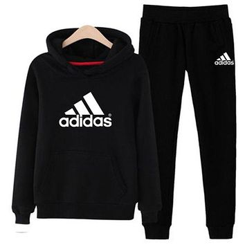 Adidas Originals Womens Sportswear Two Pieces Top Hoodies and Pants