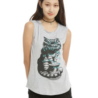 Disney Alice In Wonderland Different Reality Girls Muscle Top