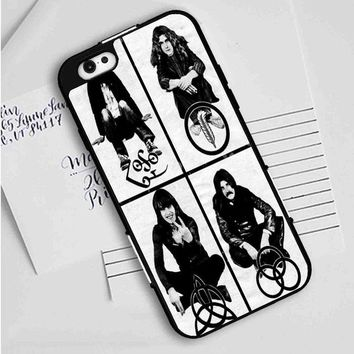 Led Zeppelin (members-with symbols) iPhone Case