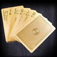 Gold Playing Cards - buy at Firebox.com