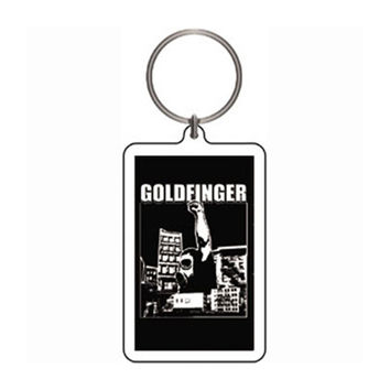 Goldfinger Plastic Key Chain Multi