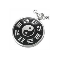 Stainless Steel 2tone YinYang The Tao Circle of by UnisexySupplies