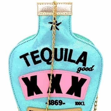 Tequila Blue Handbag Purse