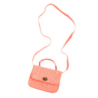 Girls' mini Edie glitter purse in neon - the glitter shop - Girl's Girl_Special_Shops - J.Crew
