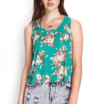 Soft Floral Tank