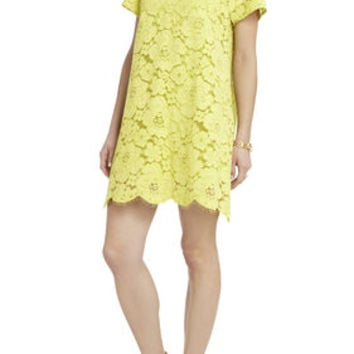 BCBG Diane Oversized Lace Dress