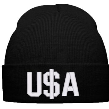 u$a BEANIE WINTER HAT