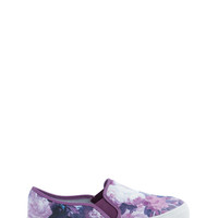 Flower Power Slip-On Sneakers GoJane.com