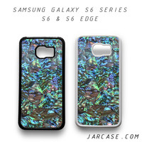 abalone shell Phone case for samsung galaxy S6 & S6 EDGE
