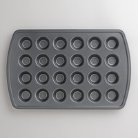 Metal Nonstick 24c Mini Muffin Pan - World Market