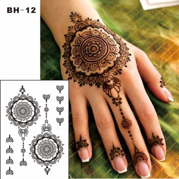 Lace Mandala Jewelry Tattoos