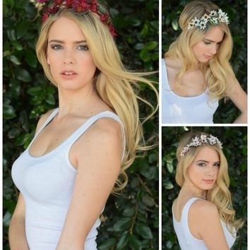 Wildflower Crown Boho Headband