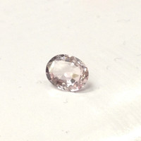 Reserved for Jina, Oval Morganite Engagement Ring Diamond Halo 10K Rose Gold