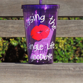 acrylic cup, personalized tumbler, bachelorette party cup, wedding party favor, plastic tumbler, 16 oz cup, wedding party gift, drinking cup