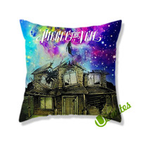 Pierce THe Veil Cool Cover Galaxy Square Square Pillow Cover