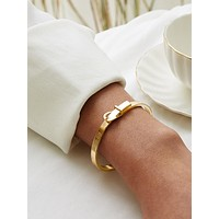 Simple Buckle Decor Bracelet 1pc
