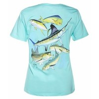 Academy - Guy Harvey Women's Big Hook Up T-shirt