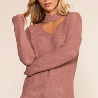 Bonfire Babe Sweater - Salmon