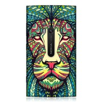 Head Case Designs Lion Aztec Animal Faces Hard Back Case Cover For Nokia Lumia 920