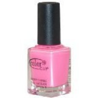 Color Club Poptastic Neons Nail Polish, Modern Pink, Bubblegum Pink, .05 Ounce