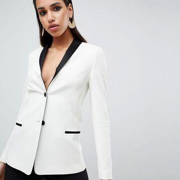 ASOS DESIGN tailored longline cocktail blazer | ASOS