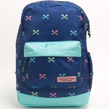 Neon Cross Fishbones Backpack