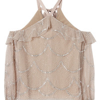 Alexis Kylie Lace Cold Shoulder Top - INTERMIX®