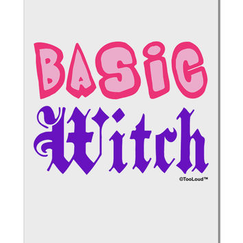 "Basic Witch Color Aluminum 8 x 12"" Sign"