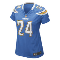 Nike NFL San Diego Chargers (Ryan Mathews) Women's Football Alternate Game Jersey Size XL (Blue)