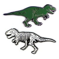PHILOSPHERS GUILD T. REX & FOSSIL PINS